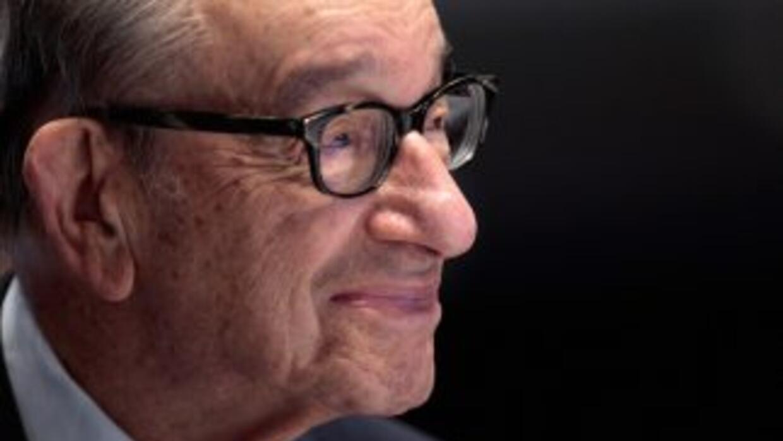 Allan Greenspan, ex presidente de la Reserva Federal de Estados Unidos.