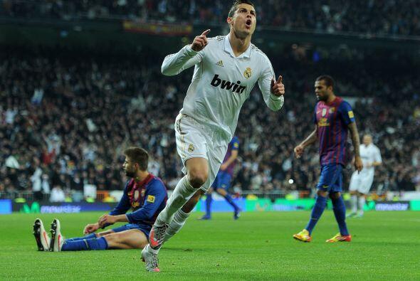 Cristiano Ronaldo fue verdugo del equipo de Guardiola en la Copa del Rey...