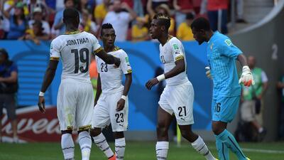 Historia de Mundiales: Ghana y su pinchazo durante Brasil 2014