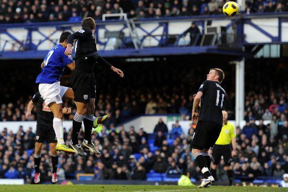 Everton fue superado ampliamente por el Everton y cayó 4 a 1.