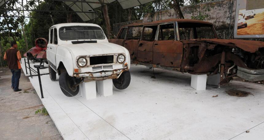 Los autos de Pablo Escobar