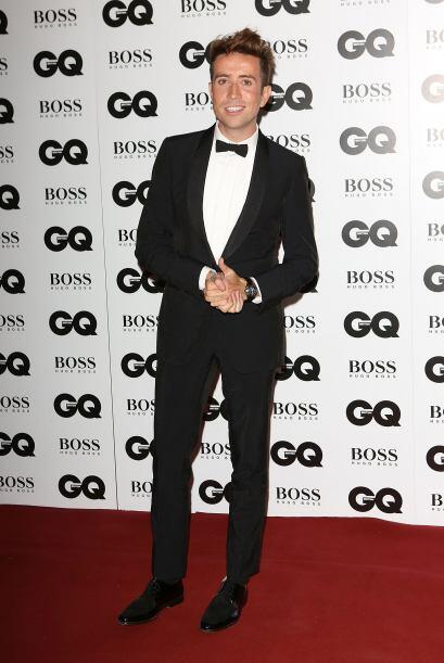 Nick Grimshaw fue otro de los caballeros que acertó con su 'outfit', y q...