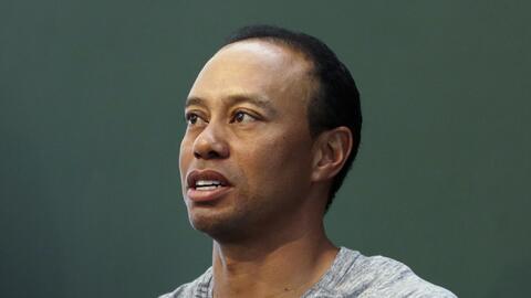 Woods fue arrestado el pasado 29 de mayo mientras dormía en el as...