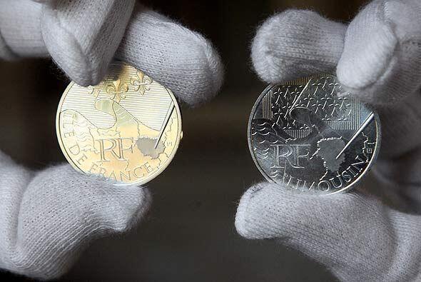 Una serie limitada de monedas salió al mercado desde principios d...