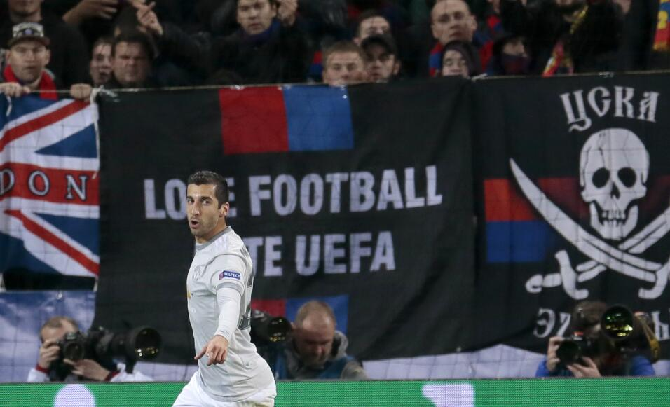16. Henrikh Mkhitaryan (Manchester United / Armenia) - 3 puntos