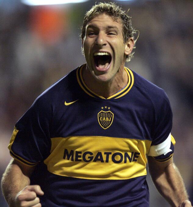 Martín Palermo estuvo en Boca Juniors desde 1997 al 2001 y luego tuvo un...