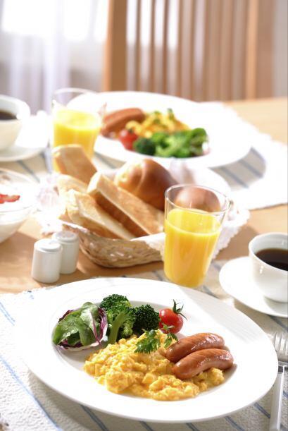 Recuerda que las proteínas son importantes en la mañana, entre los alime...