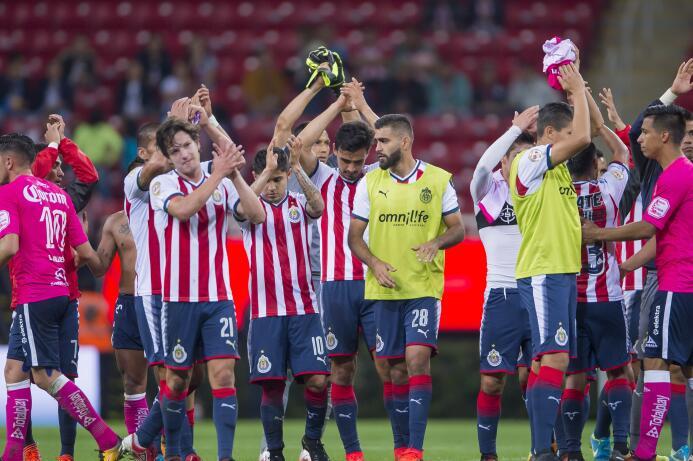 América y Chivas: Así llegan al Clásico Nacional de esta fecha 10 chivas...