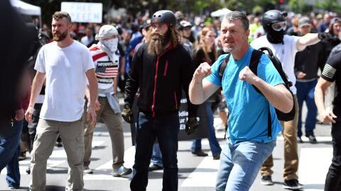Desde el triunfo de Trump distintos actos violentos relacionados a la po...
