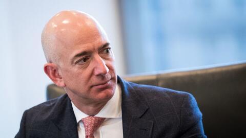 Jeff Bezos, director ejecutivo de Amazon.