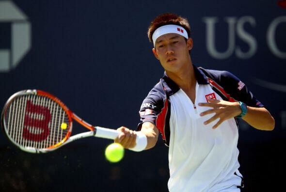 Kei Nishikori por dolores en la zona lumbar.