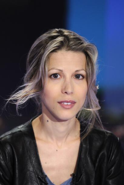 6 de julio de 2011: La joven escritora francesa Tristane Banon presenta...