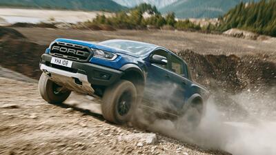 Más fotos e información sobre el Ford Ranger Raptor