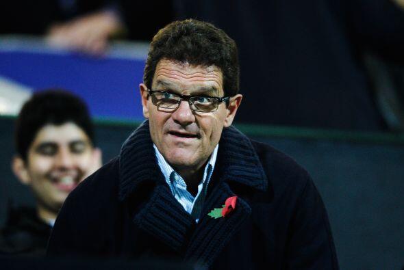 Uno que estuvo presente en el duelo fue Fabio Capello, DT de la selecció...