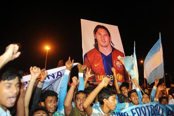Sin dudas, la presencia del mejor jugador del mundo revolucionó C...