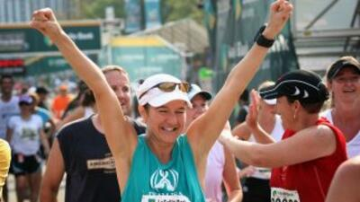 Seguridad al máximo en el Maratón del Bank of America Chicago 2013.