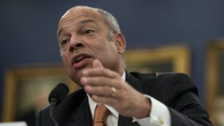 Jeh Johnson, jefe de la seguridad nacional de Estados Unidos.
