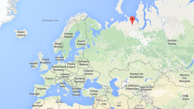 Mina de carbón en Vorkuta, Rusia