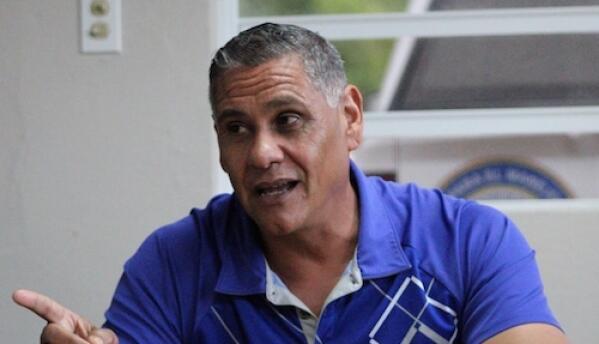 El alcalde de Barranquitas, Francisco López.