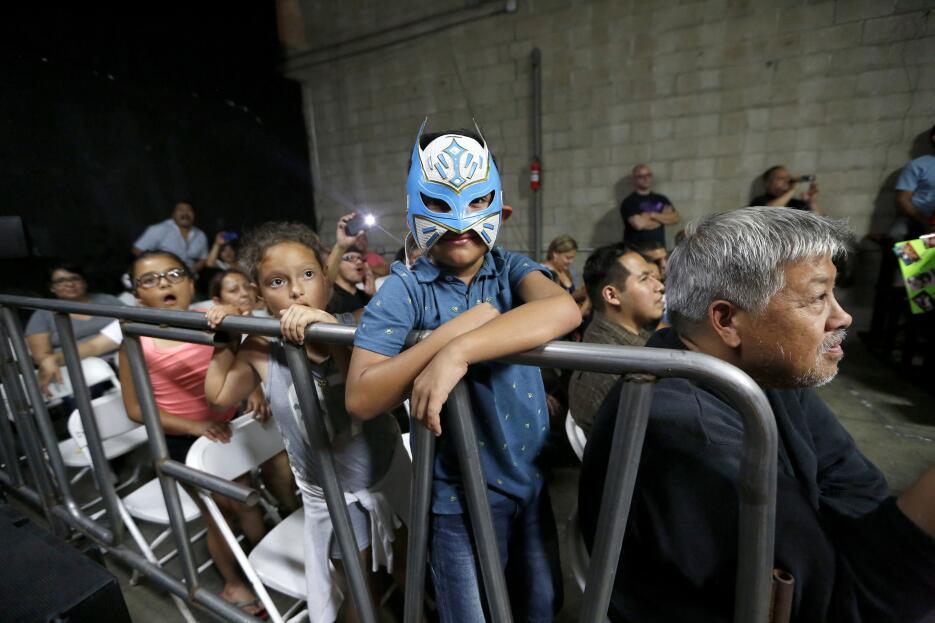Los niños suelen conformar buena parte del público en las funciones de l...