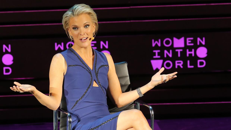 Megyn Kelly participa en una cumbre sobre mujeres en abril en Nueva York.