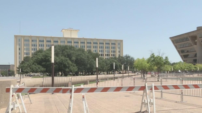Extreman medidas de seguridad en Dallas por protestas en contra de supre...