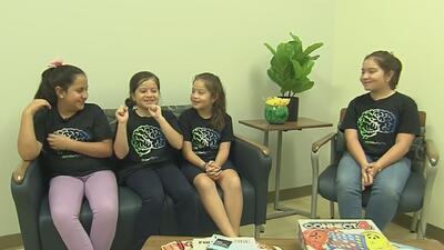 Estudiar el cerebro de los jóvenes, el ambicioso proyecto en el que participan estas niñas