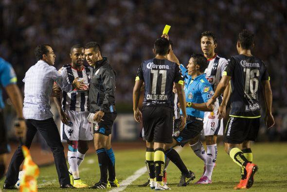 Además el Monterrey ha sabido conservar a sus once jugadores en el terre...