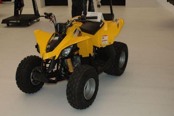 El Salón de la Motocicleta mostró también los últimos modelos de cuatrim...