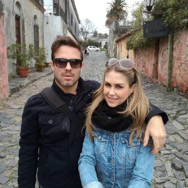 Ingrid Martz y Rodrigo Luque.