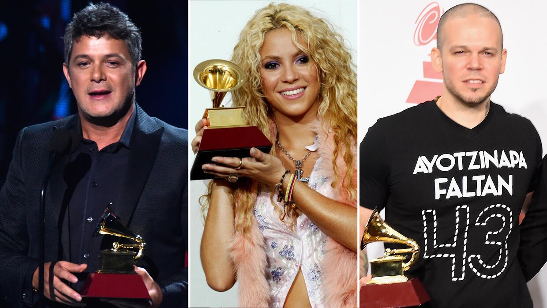 En fotos: los más ganadores en la historia de Latin GRAMMY