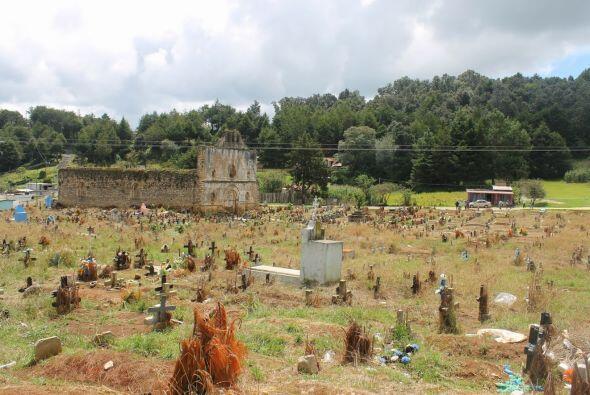 Cementerio en San Juan Chamula