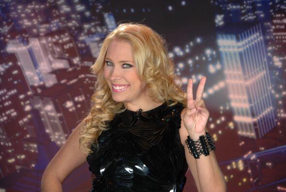 La guapa presentadora también posee un gran carisma lo cual será de much...