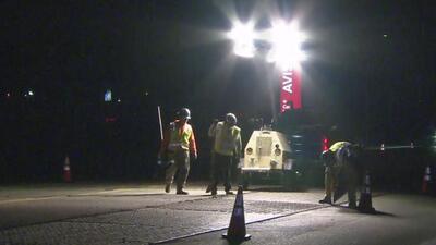 Alertan sobre problemas de tráfico en la vía hacia LAX por reparaciones a un conducto de gas