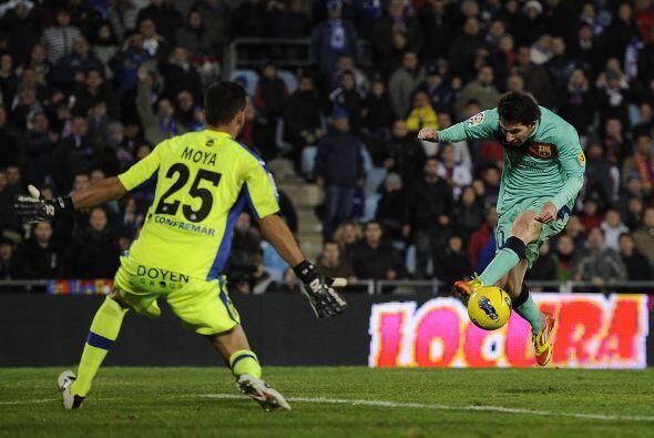 El español fue pieza fundamental para que su equipo el Getafe venciera a...