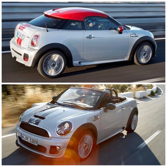Mini Coupe y Mini Roadster 2013