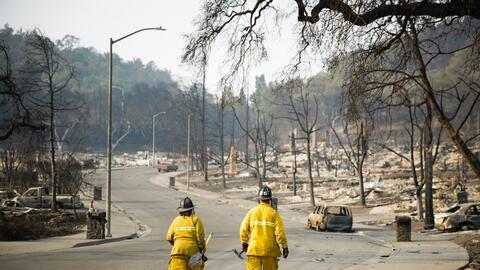 Ocho funcionarios activos del cuerpo de bomberos y cuatro retirados se s...
