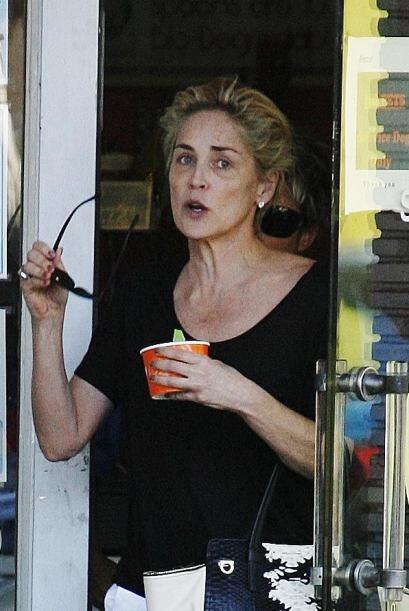 La actriz nominada al Oscar salió a disfrutar de un delicioso heladito....