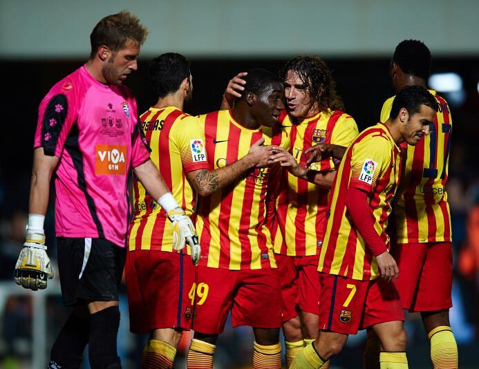 Jean Marie Dongou marcó gol en su primer partido con el Barcelona, fue e...
