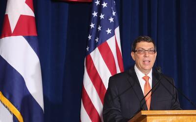 Canciller cubano rechaza los cambios en la política hacia la isla anunci...