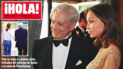 Vargas Llosa y Preysler en la portada de la revista¡Hola!