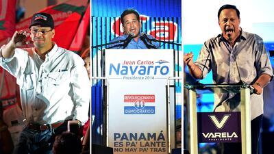 ¿Quiénes son los candidatos presidenciales de Panamá?