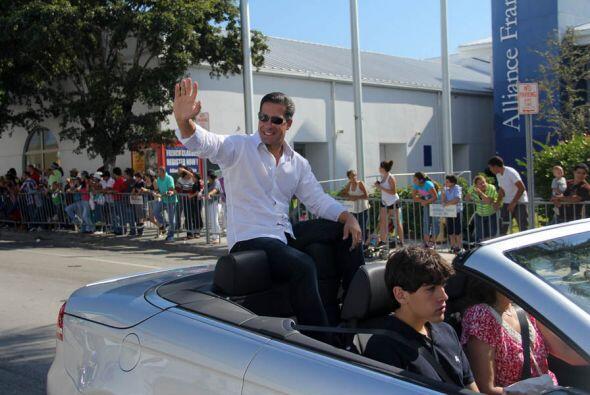 Superintendente de las escuelas de Miami Dade,  Alberto Carvalho.