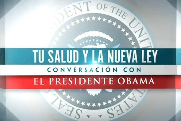Al abordar los problemas presentados con la página de internet, Obama se...