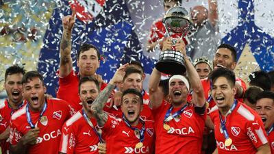 Independiente alzó el título en el Maracana.