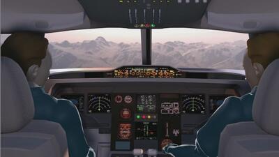 """CEO Lufthansa: """"Quien esté dentro de la cabina puede evitar la entrada d..."""