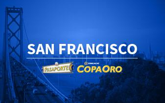 Pasaporte Copa Oro San Francisco