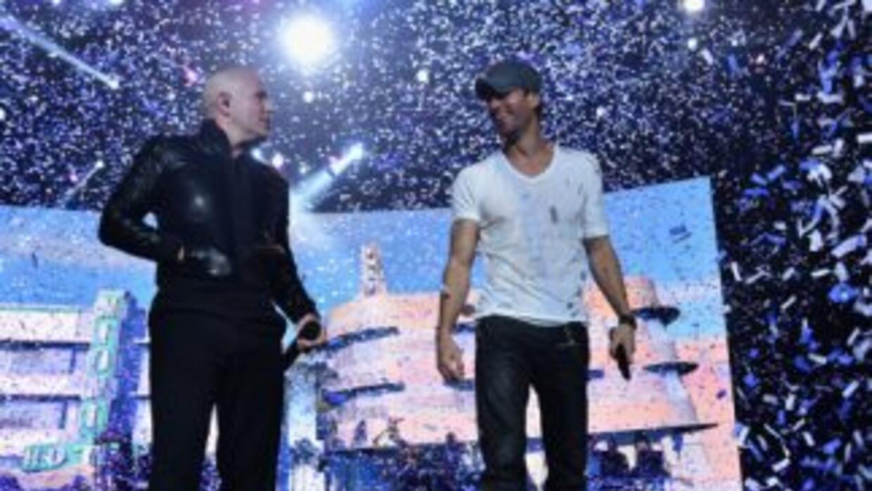 Enrique Iglesias y Pitbull dejaron el alma en el escenario de Miami como...