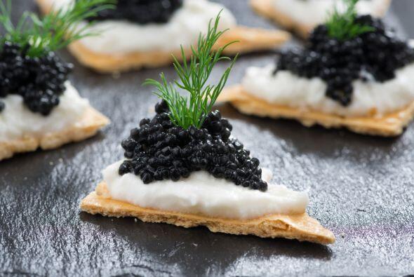 Pero en cambio el caviar que está elaborado a partir de las huevas de es...