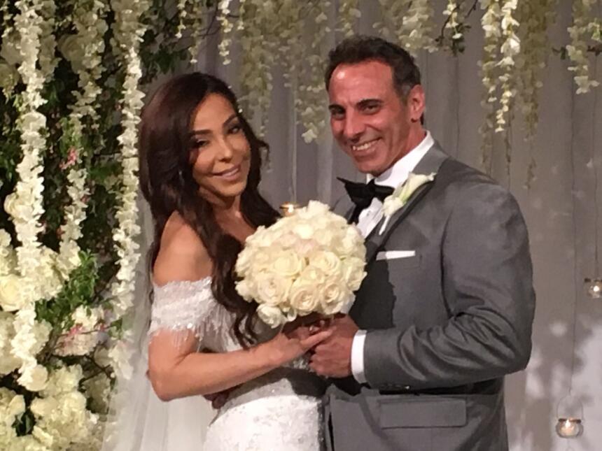 Gelena Solanó tuvo romántica boda